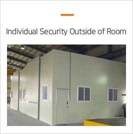CMM Equipments - CMM Equipments - Individual security outside of room