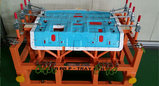 UNIT INSPECTION FIXTURE - CHECKING FIXTURE - P_TRAY